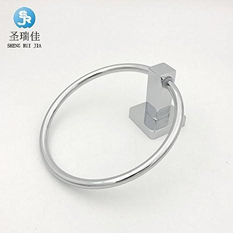Accesorios de baño Yomiokla - Toalla de metal para cocina, inodoro, balcón y bañoEl