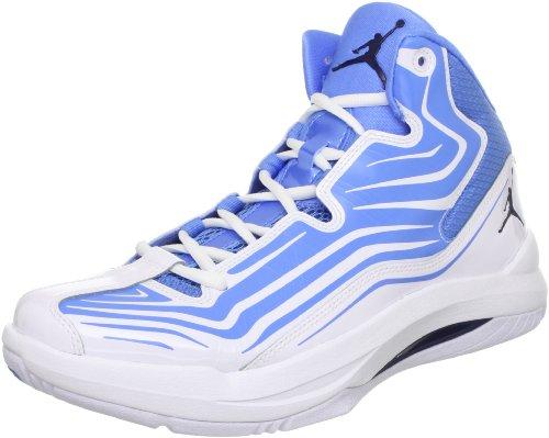 Nike Menns Jordan Aero Mani Basketball Sko Blå / Marine / Hvit Oss 11