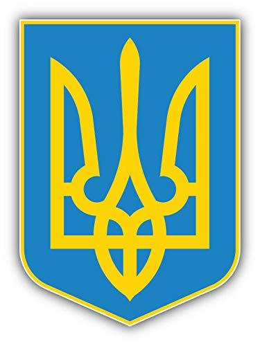 Magnet Ukraine Coat of Arms Shield Vinyl Magnet Bumper Sticker Magnet Flexible Vinyl Magnetic 5