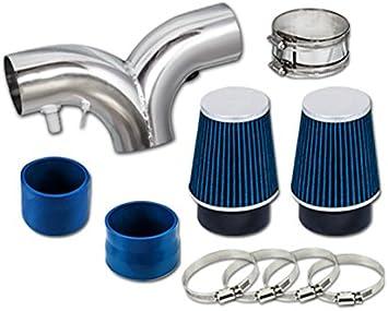 Short Ram Air Intake Kit Bronco 5.0L//5.8L V8 BLUE Filter for 94-96 F150
