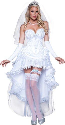 InCharacter Costumes Women's Blushing Bride Costume, White,