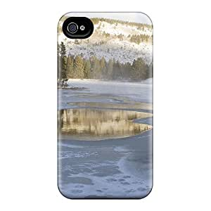 New Tpu Hard Cases Premium Iphone 6 Plus Skin Cases Covers(lake Of Ice)