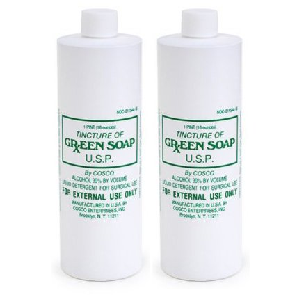 2 x 8 oz. Pure Green Soap Tattoo Medical Supply 8oz Bottle