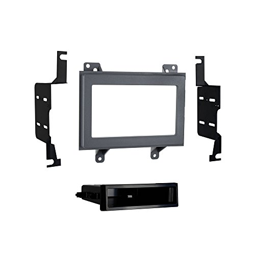 Metra 99-3045G GM Multi-Kit 1994-1997 ISO DIN/Double DIN Installation Kit (Black) Double Iso Din Kit