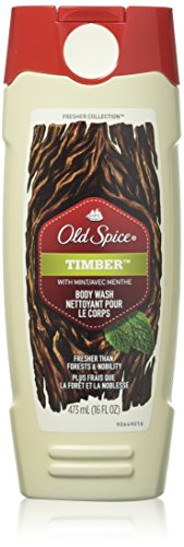 Old Spice Body Wash Fresher Collection Timber 16 Fl Oz (Pack of - Garden Timber