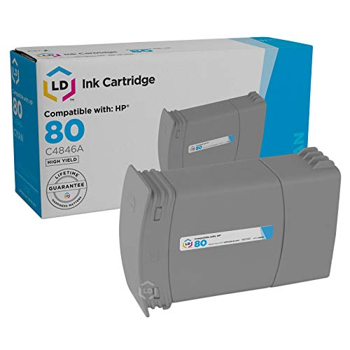 LD Remanufactured Ink Cartridge Replacement for HP 80 C4846A ()