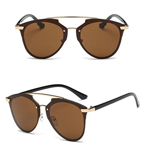 Boolavard Lunettes de soleil hipster de style Wayfarer rétro vintage Lunettes unisexes Disponibles en 45couleurs / modèles au choix, Grün Klar