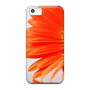 Durable Defender Case For Iphone 5c PC Cover(flower Shadow)