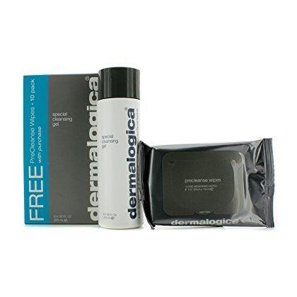Dermalogica Special Cleansing Gel (Precleanse Wipes 10 Pack) - 250Ml/8.4Oz