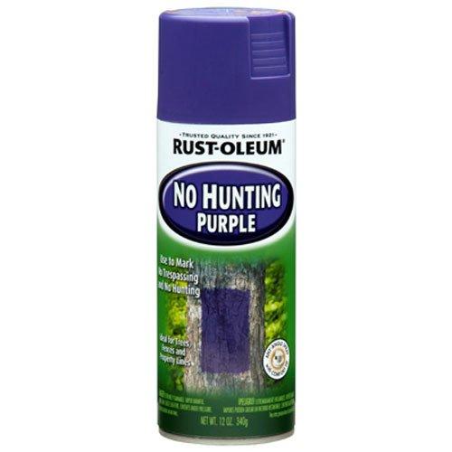 RUST OLEUM 270970 Hunt Spray Purple