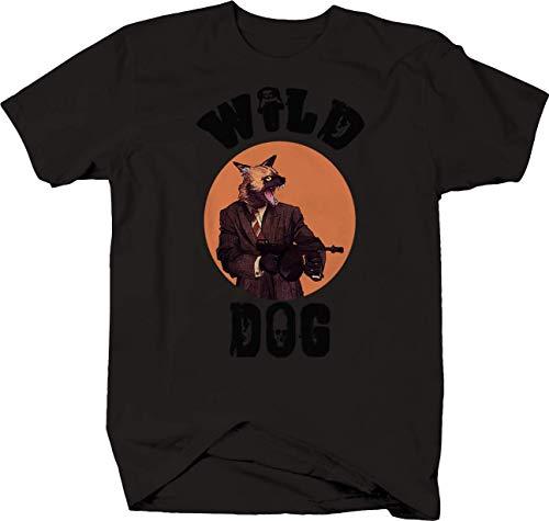 Tee Square Wild Dog Gangster Tshirt for Men Medium -