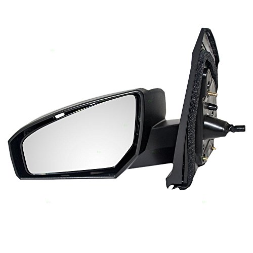 Manual Remote Side View Mirror Driver Replacement for 07-12 Nissan Sentra 96302-ET00E Driver Side Manual Remote
