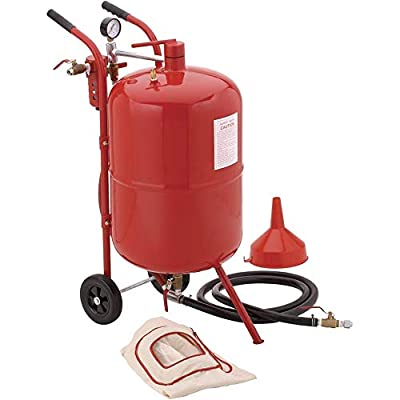 Grizzly Industrial T27158-20 Gallon Portable Sandblaster