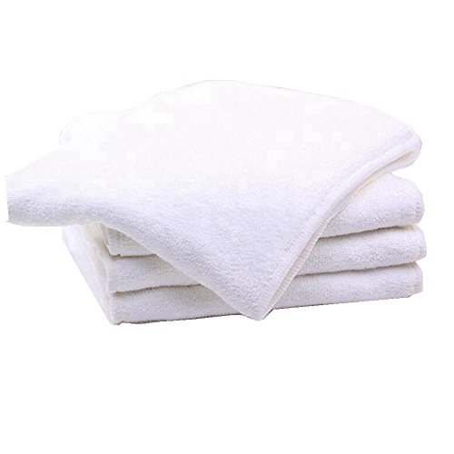 Bamboo Microfiber Inserts Liners for Adults Cloth Diapers for Incontinence Care, 4-layer Washable Reusable Large Absorbent (4 pieces)