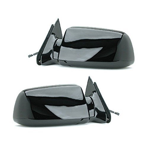 (88 - 98 Fits Chevrolet Silverado GMC Sierra Door Mirror Pair Set Power Black Blazer Jimmy Suburban Tahoe Yukon Driver and Passenger by Not OEM)