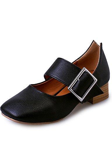 GGX/Damen Oxford Frühling/Sommer/Herbst/Winter Roller Skate Schuhe/Komfort/Schuhe & passendem Taschen black-us8 / eu39 / uk6 / cn39