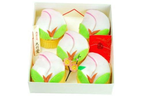御菓子司 大竹堂『大竹堂の桃カステラ 5個入』