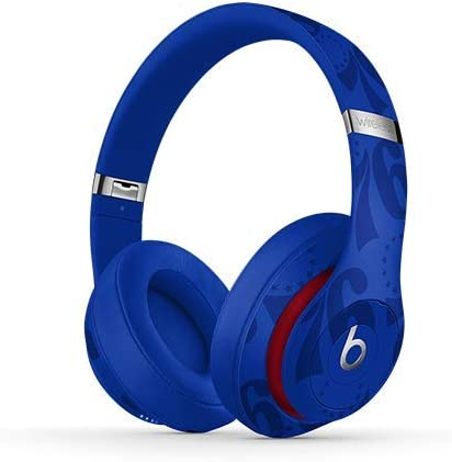 Beats Studio3 Wireless Noise Cancelling On-Ear Headphones – Apple W1 Headphone Chip, Class 1 Bluetooth, Active Noise Cancelling, 22 Hours Of Listening Time – 76ers Blue