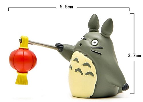 [1pcs DIY Festive Supplies Totoro Figures Kids Toys Miyazaki Anime My Neighbor Totoro PVC Action Figure Collectible Model Toy] (Totoro Diy Costume)