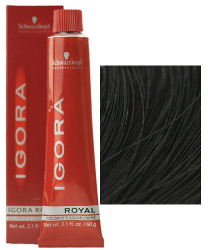 Schwarzkopf - Igora Royal Permanent Hair Color 1-0 Black 2.1 oz. (Schwarzkopf Hair Color Black compare prices)