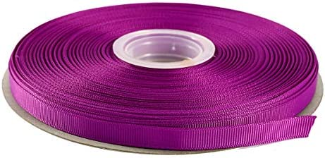 """dark purple 3//8/"""" wide grosgrain ribbon the listing is for 5 yards"""