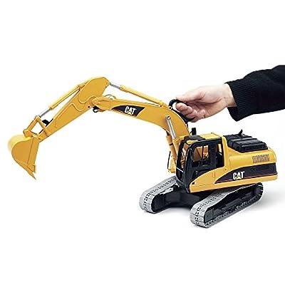 Bruder B102438  Caterpillar Excavator Scale 1:20: Toys & Games