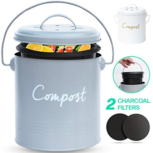 COMPOST BIN Stainless Steel