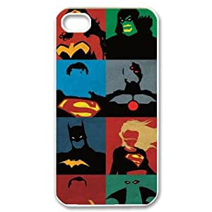 Iphone 4,4S 2D Customized Phone Back Case with supergirl Image