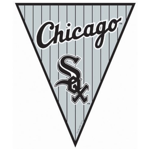 [Chicago White Sox Baseball - Pennant Banner Party Accessory] (Baseball Costume Accessories)