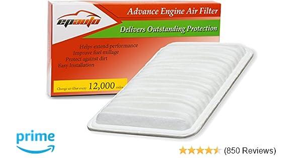 Engine Air Filter for 2004-2008 Toyota Solara 2007-2011 Camry Hybrid Easy instal