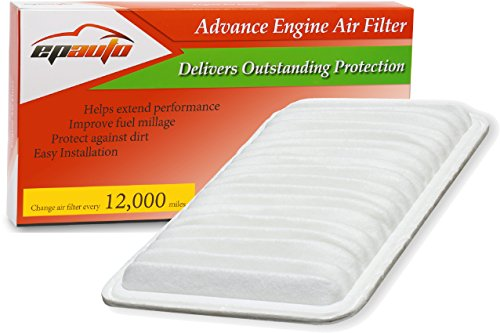 EPAuto GP360 (CA9360) Toyota/Lexus Rigid Panel Engine Air Filter (Best Automotive Air Filter)