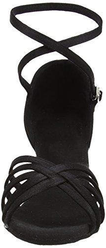 Latine Hauts Chaussures Black A Talons Sandales Danse Freefisher qz4HBpxq