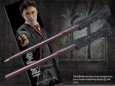 Harry Potter Wand Pen And Bookmark ()