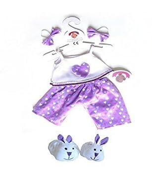 3b649d6c422 Build Your Bears Wardrobe Teddy bear clothes fits build a bear teddies  heart PJ s bows rabbit