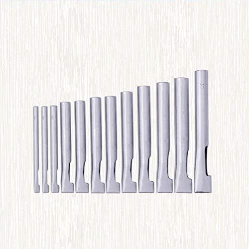 Healifty 12ピース革穴パンチカッター革作業ツール革時計バンドベルトキャンバス紙用品