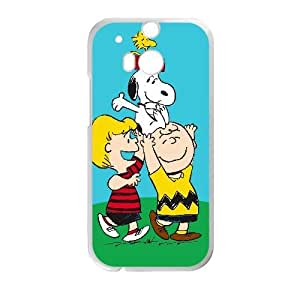 HTC One M8 phone case White snoopy green FRRG8653642