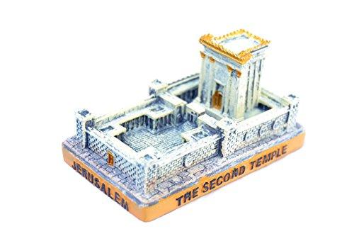 "Small Miniature Jerusalem ""The Second Temple"" Jewish Model israel holyland"