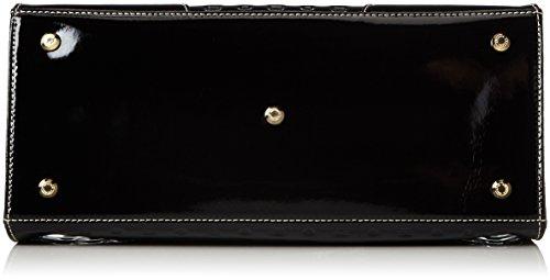 Arcadia 5873, Borsa a mano Donna, Nero, 35 cm