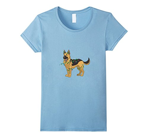 Female Costume Brothers Blues (Womens Alsatian Lover Shirt. Christmas Costume For Son/Brother/Dad Medium Baby)