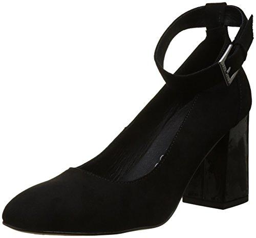 Noir CHATTAWAK Tobillo Zapatos Mujer Tacon de Laurette y con Noir Correa para rqFrPx1UwH