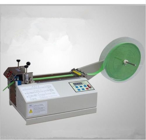 Universal Digital Tape Tube Label Cutting Machine for nonwoven fabric, PVC hose and heat shrink tube Max cutting width 95mm (220V) B071SFHLCN