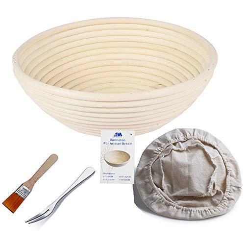 Bread Baking Baskets - Banneton Proofing Basket 8.5