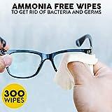 Care Check Lens Wipes, 300 Pre-Moistened