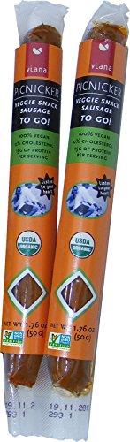 Viana - Picnicker Veggie Snack Sausage, 1.76 Once (Pack of -