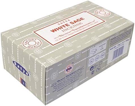 Encens Nag Champa Satya - Sauge Blanche - 15 grs: Amazon.co.uk: Office Products