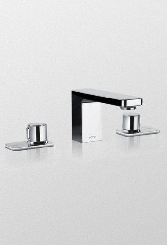 Toto TL170DDALQ#CP Kiwami Renesse Widespread Lavatory Faucet, without Pop-up Drain, Polished Chrome by TOTO (Image #1)