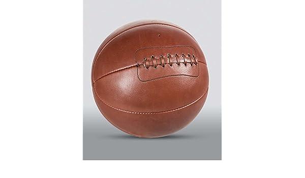 sin soporte All Sport Vintage Bal/ón de baloncesto color marr/ón