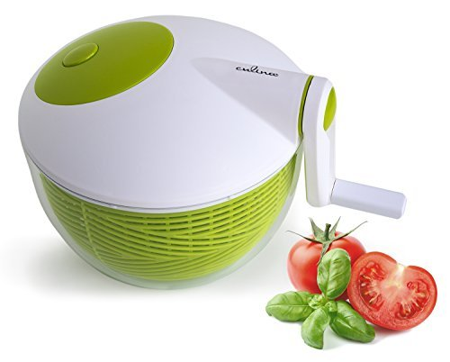 Culina 3qt Space saver Salad Spinner image
