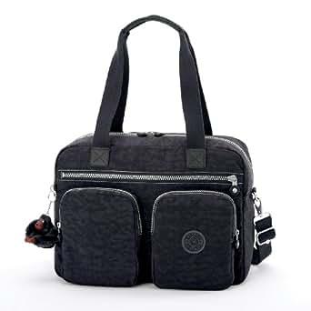 Kipling Luggage Sherpa Travel Bag, Black, One Size