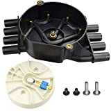 NEW Ignition Distributor Cap and Rotor Kit For Chevrolet GMC Tahoe Vortec V8 DR474/ DR331 Upgrade (Brass Terminals)